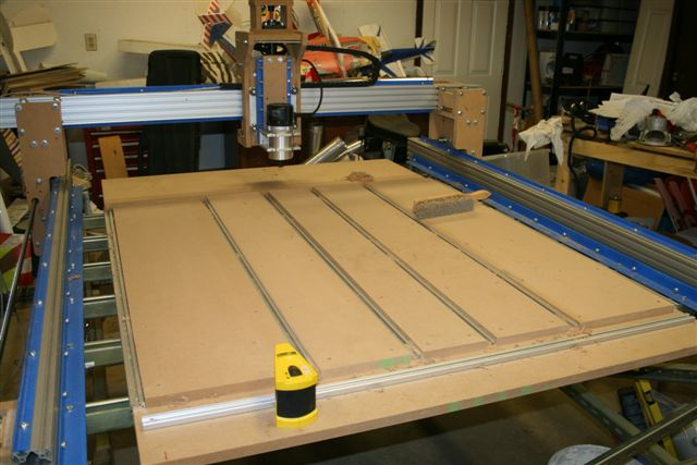 Aluminum cnc router build 3 axis cnc router with mdf carriages and lead screws greentooth Image collections