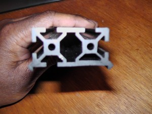 Makerslide extrusion