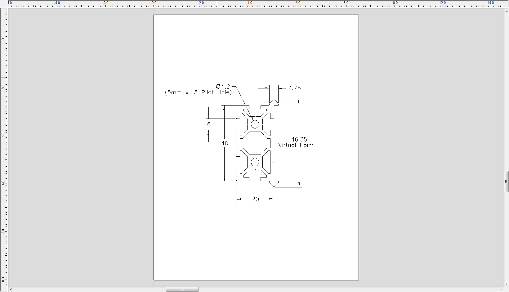 Makerslide A First Look At An Open Source Linear Bearing: opensource cad dwg