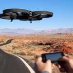 AR Drone flying robot