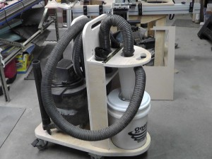Cyclone dust separator Cart